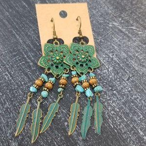Jewelry - Antiqued Boho Earings